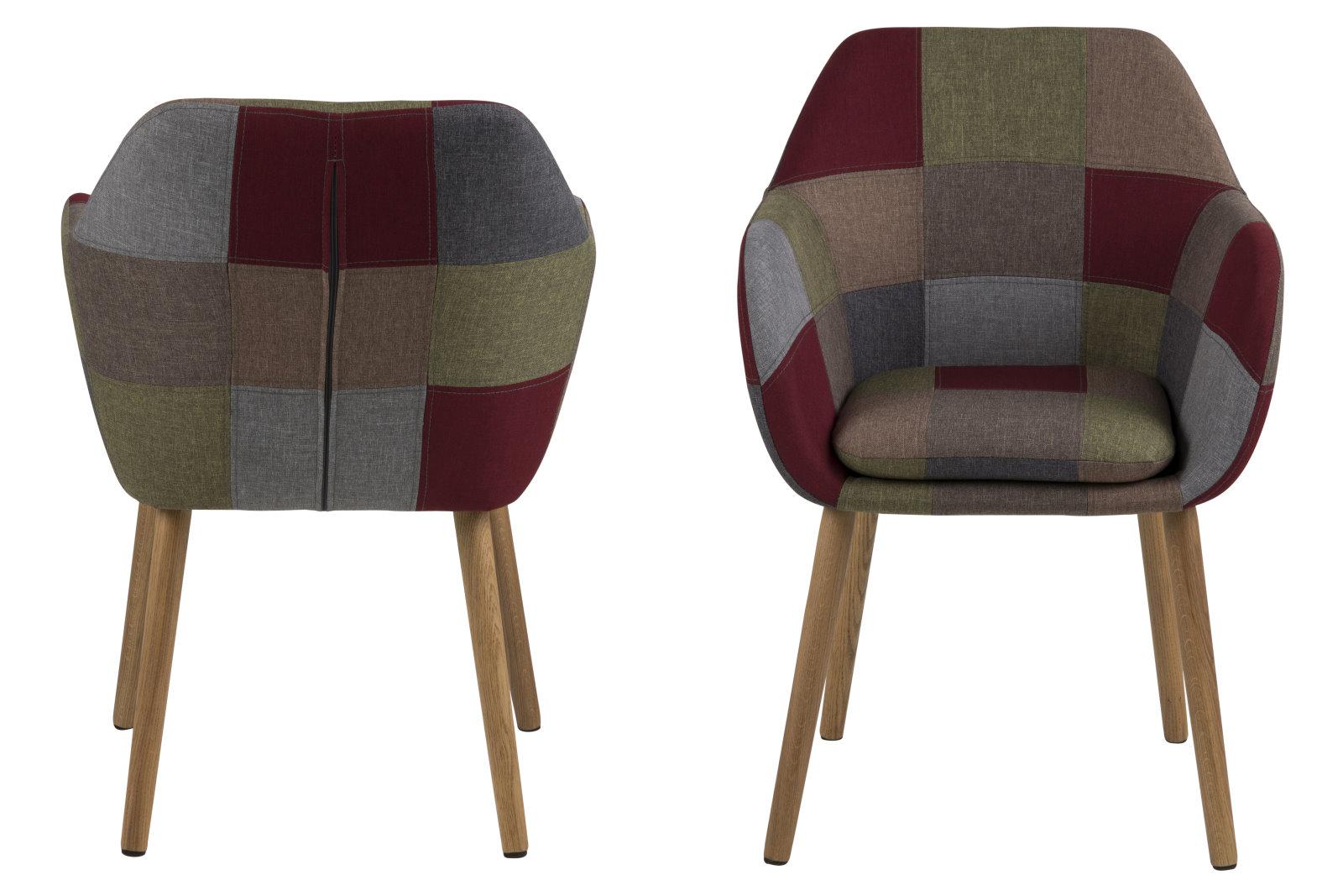 pkline esszimmerstuhl emil stuhl k chenstuhl stuhlgruppe patchwork m bel wohnen st hle hocker. Black Bedroom Furniture Sets. Home Design Ideas