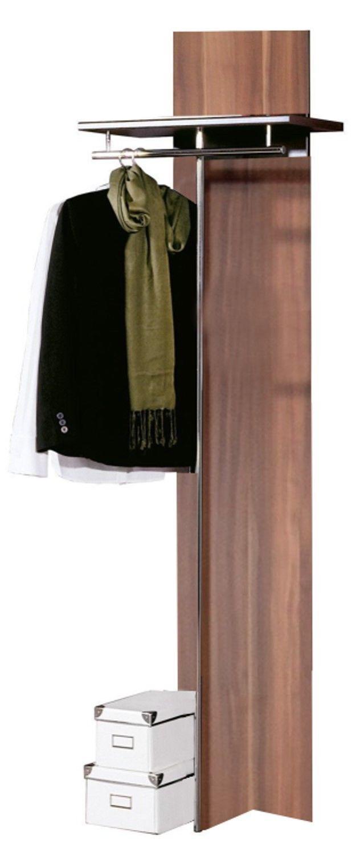 germania garderobenpaneel 200cm walnuss nb garderobe. Black Bedroom Furniture Sets. Home Design Ideas