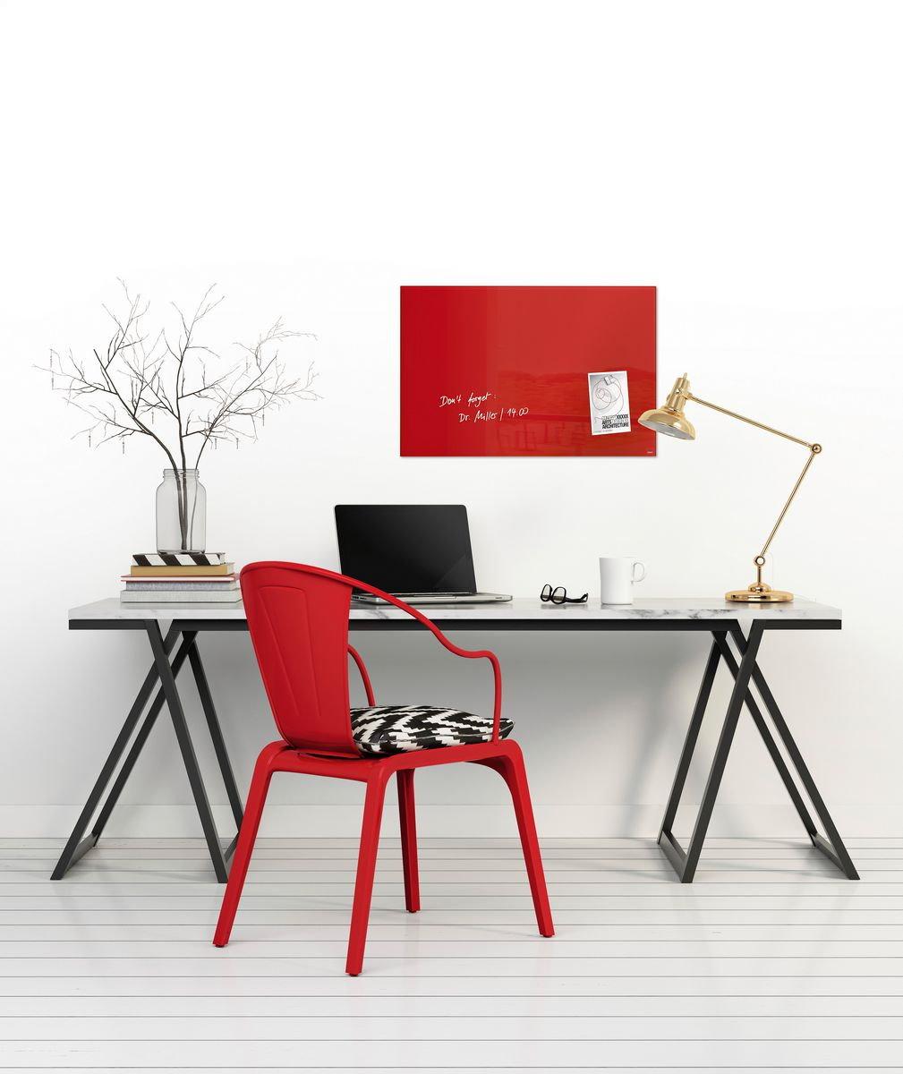 sigel glas magnetboard artverum 60x40 magnettafel magnet board tafel wandboard business industrie. Black Bedroom Furniture Sets. Home Design Ideas