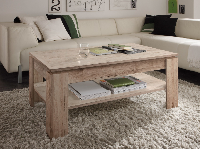 tisch universal eiche san remo sand couchtisch wohnzimmer sofa